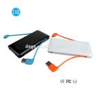 Smart External battery power bank 6000mAH with Data Line