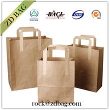 eco friendly kraft bag , kraft paper bag for food