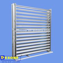 motorized sun control louver | adjustable louvers (Aerofoil) vertical louver