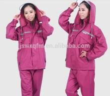 custom raincoat fashion rain coat for ladies
