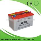 12V 80ah dry charged Car Automobile Batteries N80 N80L 95D31R 95D31L NX120-7L