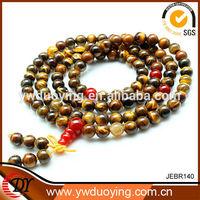 Fashion Jewelry Chinese Unique Style Tiger Eye Buddha Bead Bracelets