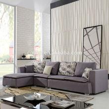 Sf 1076 forma L Modern tecido sofá de design 2014