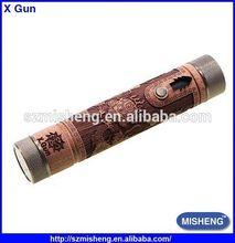 Stock Offer E Fire V2 Wooden Vape Pen Mod X Fire X Gun Vv Mod Carved X Gun
