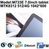 7 inch dual core tablet pc , allwinner chipset