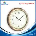 Antiguo& tema retro de plástico reloj de pared de mecanismo para la promoción de venta