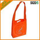 Cheap foldable non-woven shoulder tote shopping bag wholesale die-cut