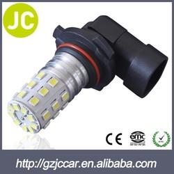 car led lighting 9006 fog bulb 2835 33smd amber led fog light