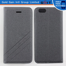 High Quality Magnetic PU Leather PC Case for iPhone 6, Cover for iPhone