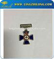 Personalizados exército rank insignia, creative men's emblemas de lapela pinos