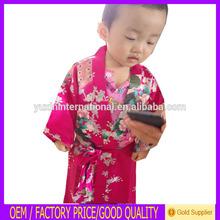 Novo design do chinês fabricante crianças por atacado vestido kimono robe CK01
