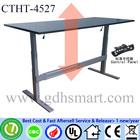 black color metal folding tables height adjustable office desk table baroque