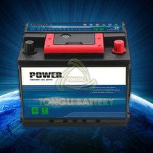 power most reliable maintenance free battery, MF automotive battery, starting&starter car battery