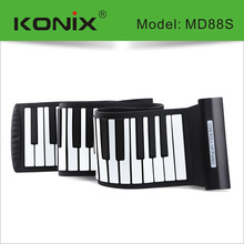 Newest 88 Keys Electronic Roll up Piano, Music Instrument Piano - Midi Out Function