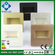 1.5w AC100V-265V Epistar COB LED footlight indoor using Mounted stair step light