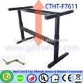 espanhola bar móveis manivela manual de altura ajustável frame mesa de escritório hexagon mesa de jantar