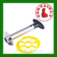 2014 Stainless Steel Fruit Pineapple Corer Slicers Peeler Parer Cutter Easy Kitchen Tool Free Shipping