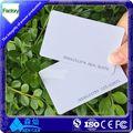 profesional de la impresión del pvc tarjeta de rfid de pvc de impresión de la tarjeta en blanco los paquetes de fabricante