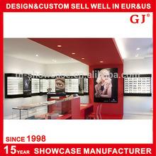 High end optical frames display stand showcase furniture