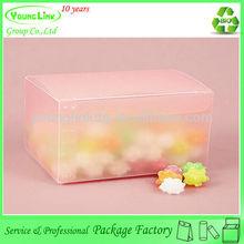 Cute popular sugar packaging box,plastic sugar box, wedding sugar box