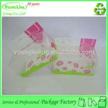 Printed Custom made fancy plastic snack box packaging