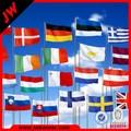 Disegno libero bandiera a goccia come clienti per dimensioni e del design.