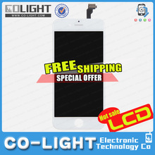 Free shipment ! Original and cheap foxconn item for iphone 6 lcd digitizer