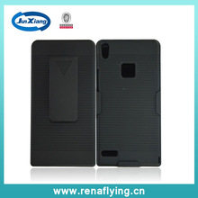2014 kickstand holster combo case for HuaWei ascend P6