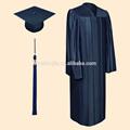 Brillante de color azul marino vestidos de graduación, Licenciatura traje de graduación y vestidos