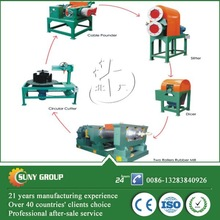 high productivity automatic waste/used tyre powder production line