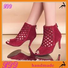 B&D00026-5 ladies high heel sandal boots brand new design high heels shoes