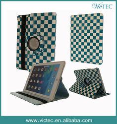 Smart Luxury Rotary PU Leather for iPad 5/iPad air Case