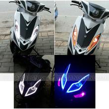 85cm motorcycle, automotive led flexible strip light, decorative light with turn signal light