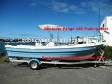 Bestyear FRP boat Panga22 D Fishing Boat Fishman Boat