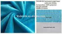 waterproof diaper/blanket minky fabric