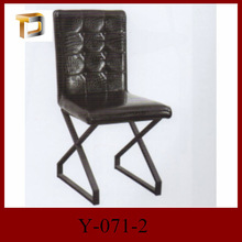 Y-071-2 modern house design dining chairs by China