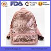 Pink Sequins Schoolbag Glitter Sparkle Backpack Bag Sequins Girls Bag OEM