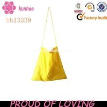 yellow shoulder canvas tote bag