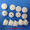 customer's precision white plastic gear for all kinds of plastics