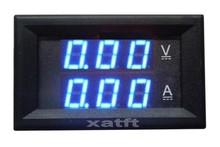 Voltage meter LED dual display meter, Power 4.5-30VDC, voltage: 0-100VDC , Current:DC 0-10A, 20A, 50A...