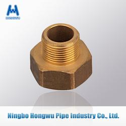 Brass union nuts Hexagon for solar hose