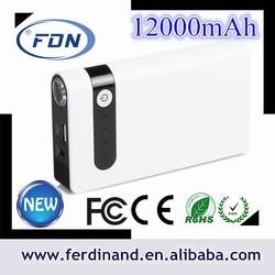 Hot sale 12000mah car mobile jump starter 12 volt power banks