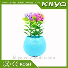2015 newest plastic flowerpot small novelty decorative night lamp