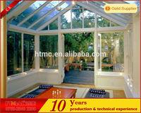 2014 newest modern aluminum glass sunroom green house sun room