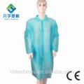Sbpp SMS não tecido azul branco descartável jaleco uniforme