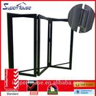 LOW E glass frameless folding glass windows accordiong manufacturer with Australian standard AS2047