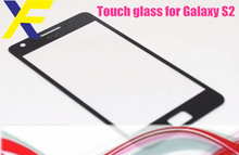 Mobile repair parts For Samsung galaxy S2 front glass