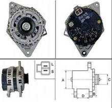 Manufacturer best quality carab 579194 alternator For 87-99 Accent