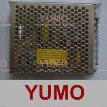 YUMO AC 220V 5V 12V volt DC LED triple switch mode power supply