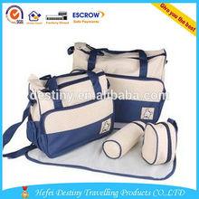 Hot sale feeding-bottle insulation bag and Mummy Bag baby diaper bag set